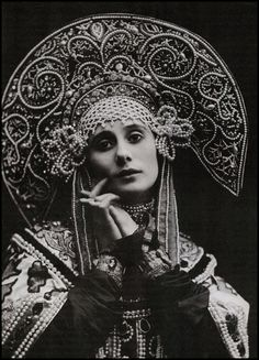 Anna Pavlova - February 12 [O.S. January 31] 1881 - January 23, 1931) was a Russian ballerina of the late 19th and the early 20th century. She is widely regarded as one of the finest classical ballet dancers in history and was most noted as a principal artist of the Imperial Russian Ballet and the Ballets Russes of Sergei Diaghilev. Pavlova is most recognised for the creation of the role 'The Dying Swan' and, with her own company, became the first ballerina to tour ballet around the world.