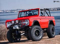 Red Bronco on Fuel Trophys