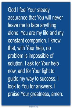 God has answers. http://prayables.org/sign-get-blessed-ings/ find more prayers, blessings, Bible verse, and inspirational quotes!