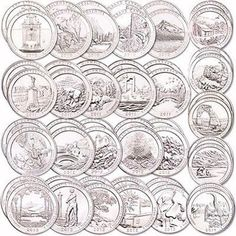 2010-2020  P D  America the beautiful  Park 5  Quarters   ANY YEARS SET