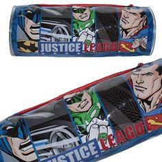 DC 5585010pvc Liga de la justicia Batman/Superman/Flash/linterna verde redondo estuche - http://comprarparaguas.com/baratos/de-colores/verde/dc-5585010pvc-liga-de-la-justicia-batmansupermanflashlinterna-verde-redondo-estuche/