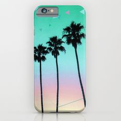 Palm Trees 4 iPhone & iPod Case