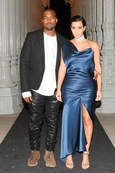 Kim Kardashian West, Kanye West and others honor artist Barabara Kruger and director Quentin Taratino at LACMA Gala.