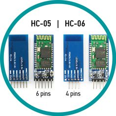 Compare Bluetooth HC-05 and HC-06