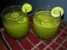 manjuz kitchen: Cucumber Mint Cooler