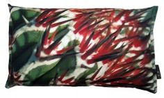 Cactus Pillow Christmas Spiky, printed on cotton canvas.