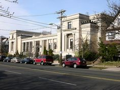 The Bayonne Library, I worked in circulation checking out books for a summer, my very first job!