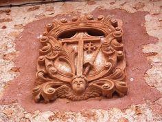 Escudo de la inquisicion Miedes de Atienza