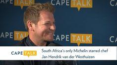 South Africa's only Michelin starred chef Jan Hendrik van der Westhuizen