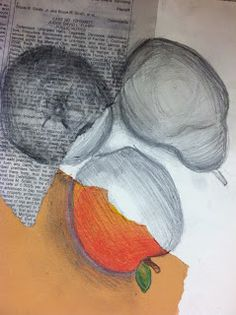 DRAWS Attention!!!: Happy Value Day!! Art project based on value using different media