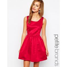 Red dress size 0 petite 5k