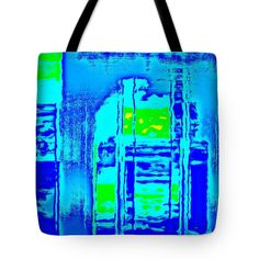 Cityscape Digital Art Tote Bag featuring the photograph Cityscape by Len-Stanley Yesh