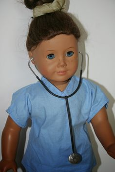 Arts and Crafts for your American Girl Doll: Hospital Stethoscope for American Girl Doll