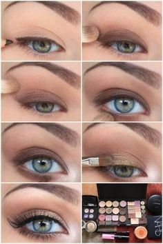 simple eye make up by ester