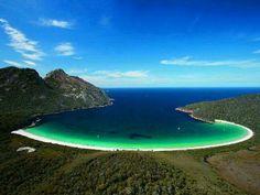 Wineglass Bay, Freycinet National Park, Tasmania, Australia - Beautiful Places to Visit Tasmania Australia, Australia Travel, Western Australia, Coast Australia, Sydney Australia, Dream Vacations, Vacation Spots, Places To Travel, Places To See