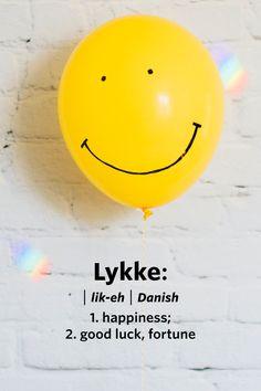 Scandinavian Words We Wish We Had in English Lykke (Danish): Happiness; or good luck, fortune. or good luck, fortune. Unusual Words, Rare Words, Fake Wedding Cakes, Danish Language, Swedish Language, Danish Words, Learn Swedish, Foreign Words, Hygge Life