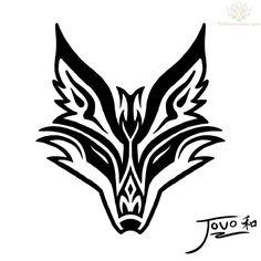 tribal fox head at DuckDuckGo Tribal Tattoos, Tribal Drawings, Head Tattoos, Celtic Tattoos, Wolf Tattoos, Trendy Tattoos, Body Art Tattoos, Tatto Viking, Art Fox