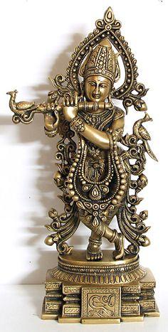 Muralidhar Krishna - Brass Sculpture