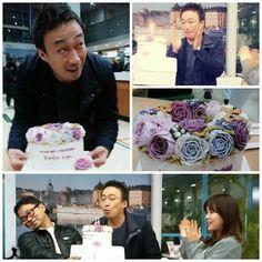 Misaeng: The cast celebrates Lee Sung Min's birthday.