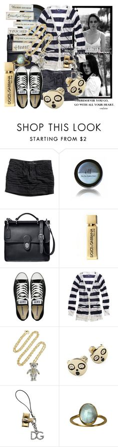 """""""Anytime you need love you're in my heart."""" by juinn ❤ liked on Polyvore featuring KRISVANASSCHE, American Eagle Outfitters, B. Ella, ELF Cosmetics, Coach, Dolce&Gabbana, Converse, Aerie, Vivienne Westwood and Marc by Marc Jacobs"""