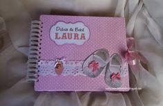 Sonia Cirino Atelier: Livro do Bebê - rosinha, bem menininha