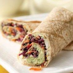 Creamy Avocado & White Bean Wrap - EatingWell.com