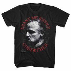 Godfather Justice Black T-Shirt