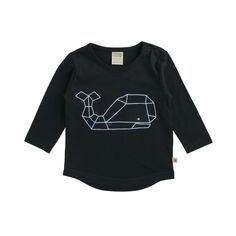 A fantastic everyday T-Shirt! Team with Sloopy Pants and a Hoodie when it's cool or shorts in the summer. Features a scooped hem that's easy for kids to tuck in, and looks great left untucked too.    This style is also available in our Kid