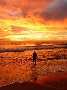 Sunset, Negombo-Sri Lanka