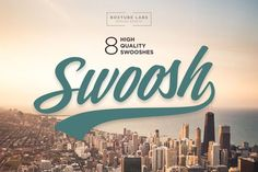 Nice 8 High Quality Swooshes CreativeWork247 - Fonts, Graphics, Themes, Tem...