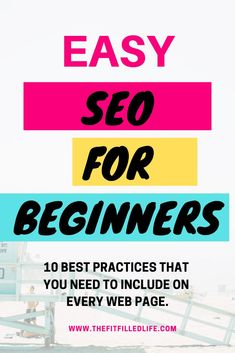 10 best practices for SEO for beginners that need to be included on every web page. Breaking down how to be found by search engines. #seoforbeginners #seotutorial #seobasics #getfoundongoogle