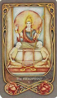 Belle Constantinne - The Hierophant - Fenestra Tarot