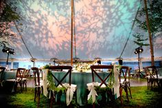 Seitel Lighting design for sailcloth tent wedding in the Berkshires at The Mount. Photo by Donna DeMari. Wedding Tent Lighting, Tent Wedding, Wedding Decorations, Table Decorations, Sailing Outfit, Lighting Design, Creative, Beautiful, Ideas