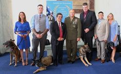 4 Hero Military Dogs Receive First-Ever Medal of Courage Awards