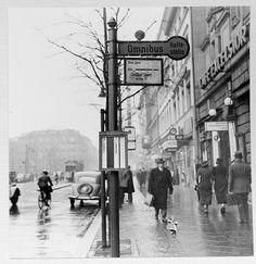 Street in Berlin, Germany 1937
