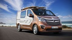 Surfer-Specific Vans - The Opel Vivaro Surf Van is Built for the Beach Lifestyle (GALLERY)