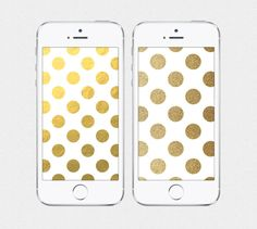 Graphic & Gold iPhone 4 / iPhone 5 Wallpaper by SplendidSupplyCo, $3.00