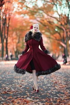 Rachel Ann Jensen ♥: Festive in Foliage Rockabilly Mode, Rockabilly Fashion, 1950s Fashion, Vintage Fashion, Punk Fashion, Lolita Fashion, Fashion Boots, High Fashion, Vintage Outfits