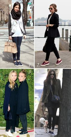 Fall Style: Sneakers with Blazers and Jackets