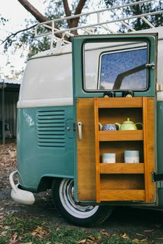 kombi. don't forget the teapot ;)