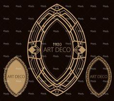 Art Deco Border