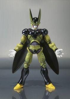 Amazon.com: Bandai Tamashii Nations Perfect Cell S.H. Figuarts Dragon Ball Z: Toys & Games