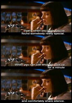 Pulp Fiction does it right Death Proof, Reservoir Dogs, Movies Showing, Movies And Tv Shows, Pulp Fiction Quotes, Quentin Tarantino, Tarantino Films, Non Plus Ultra, Stupid Love
