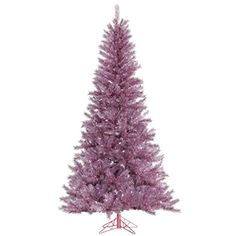 Vickerman 32895  12 x 78 Orchid Pink Tinsel Christmas Tree A147090 * Check this awesome product by going to the link at the image.