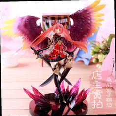 43.85$  Buy now - http://ali0gw.worldwells.pw/go.php?t=32580143835 - Hot Sale  Game Rage of Bahamut Dark Angel Olivia Exclusive Version  Special Colour Huge 29cm Action Figure