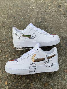 Behind The Scenes By customised_culture Custom Vans Shoes, Custom Painted Shoes, Nike Custom, Custom Sneakers, Custom Af1, Reflective Shoes, Nike Shoes Air Force, Jordan Shoes Girls, Nike Shoes