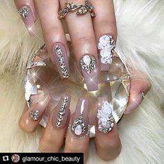 #Repost @glamour_chic_beauty with @repostapp ・・・ ✨ Garden of Eden ✨  #glamourchicbeauty #glamourchic #gcnails #goldcoastnails #3dnailart #nudenails #swarovskinails #blingnails #3dflowers #longnails #nailart #nailartclub #nailartoohlala #instanails #prettynails #weddingnails #bestnails #nailsonpoint #nailartjunkie #nailpro #nailporn #nailpromag #nailedit #nailit #nailitmag #nailfashion #swan_nails #thenaillife_ #hudabeauty