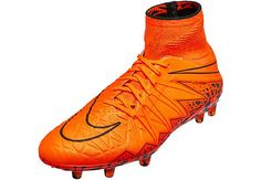 new arrival bc897 d9660 Nike Hypervenom Phantom II FG Soccer Cleats - Total Orange Football Shoes, Soccer  Shoes,