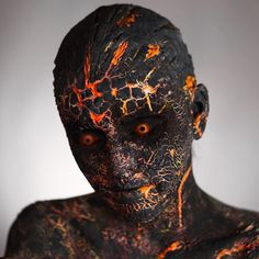 Super Ideas For Makeup Artist Photoshoot Ideas Halloween Sfx Makeup, Costume Makeup, Makeup Art, Creepy Makeup, Makeup Inspo, Maquillaje Halloween, Halloween Makeup, Horror Makeup, Special Effects Makeup
