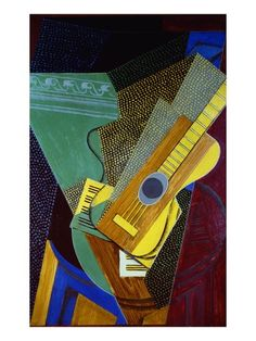 Guitar on a table (1921)